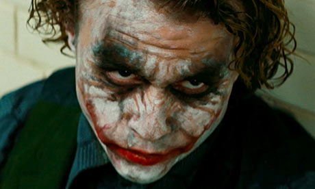 The Joker - played by Heath Ledger in The Dark Knight